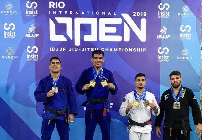 Fernando Reis e Rafaela Bertolot com ouro duplo no Rio Open 2019