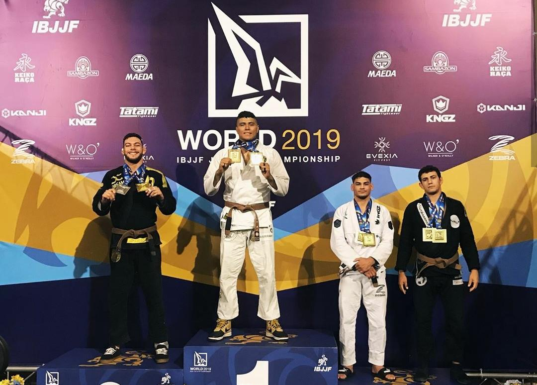 2019 Worlds: Victor Hugo and Yara Soares are the brown belt