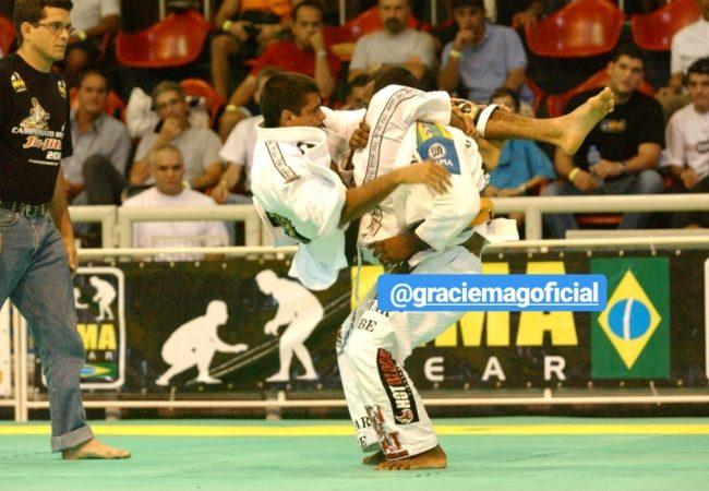 Qual foi o triângulo mais sinistro que você viu no Jiu-Jitsu?
