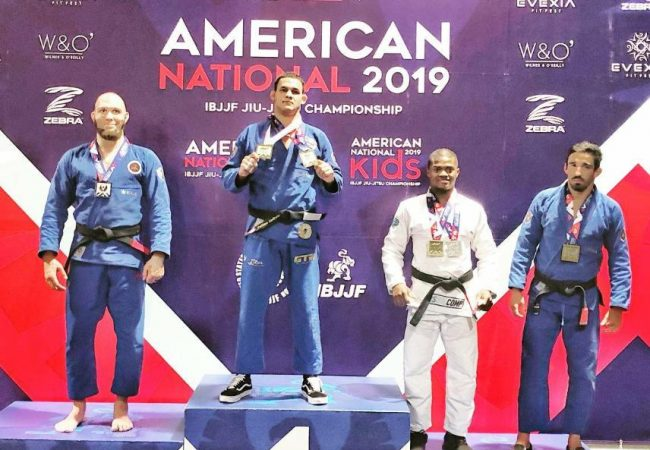 Fellipe Andrew shines with double gold at the American Nationals
