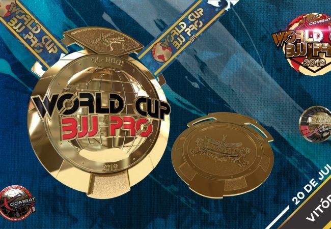 Premiação em dinheiro e medalhas: dia 20 tem X-Combat World Cup BJJ Pro em Vitória