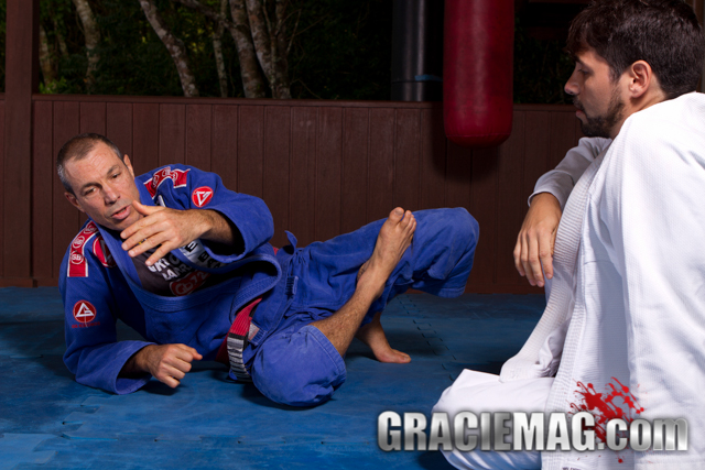 A private lesson with Carlos Gracie Jr.