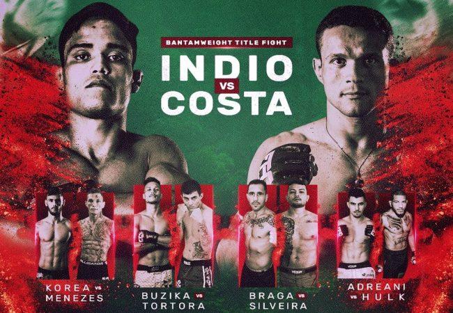 Em novo palco do Future MMA, 'Índio' e Taigro prometem dar show em busca de visibilidade