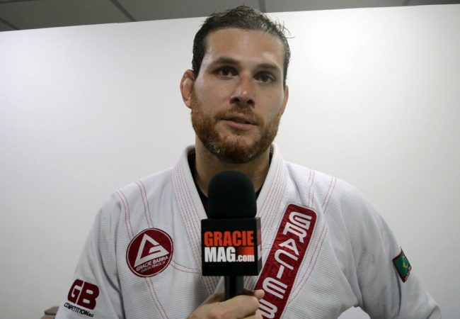 Roger Gracie explains the effectiveness of his BJJ: a progressive game, focus, great rivals