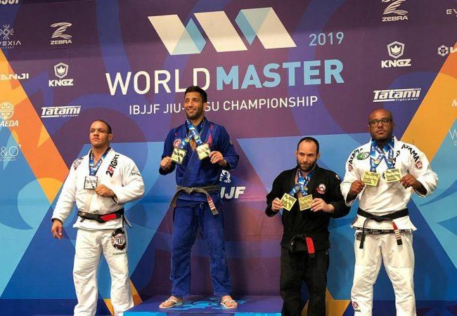 Mundial Master 2019: Formiga, Pé de Chumbo, Titi e mais campeões na faixa-preta
