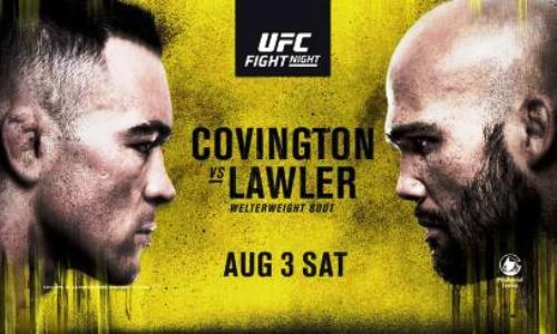 Hannibal, Netto BJJ e Covington x Lawler agitam UFC em Newark na tarde deste sábado