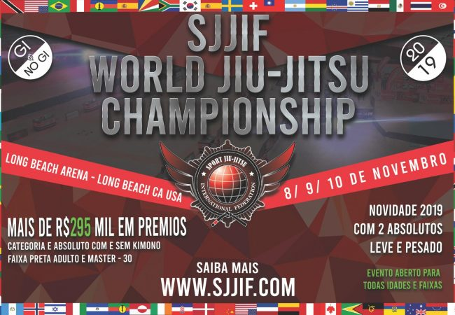 Register for the SJJIF Worlds with a discount until Thursday, Aug. 22
