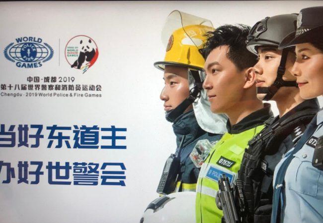 """Jiu-Jitsu nos """"Jogos Olímpicos"""" dos policiais e bombeiros"""