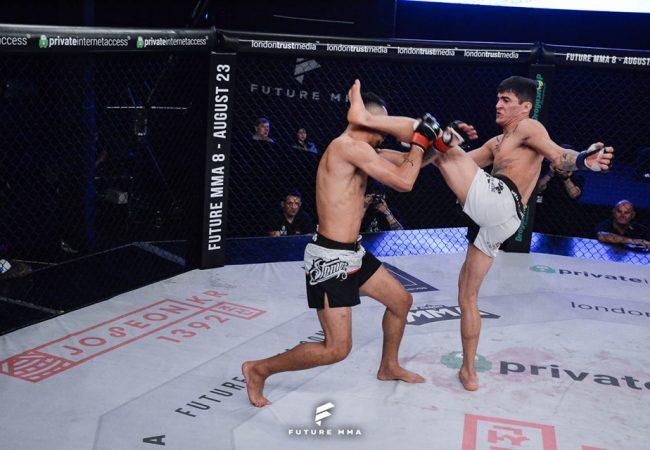 Embalado por nocaute em 14s, Jackson Tortora assume luta principal do Future MMA 8