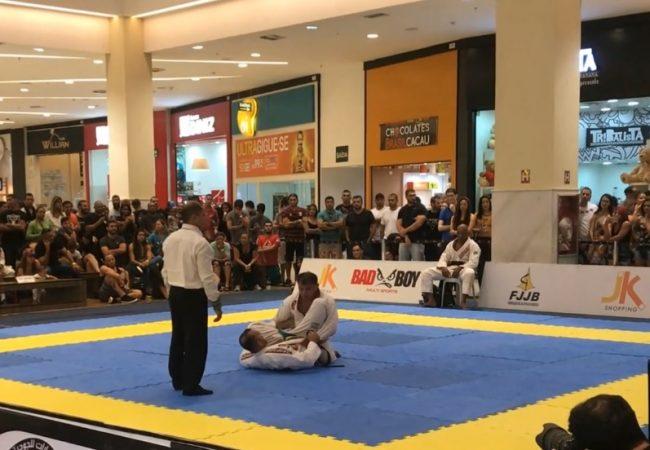 O dia em que o Jiu-Jitsu parou um shopping em Brasília, com professor Marcio Lima