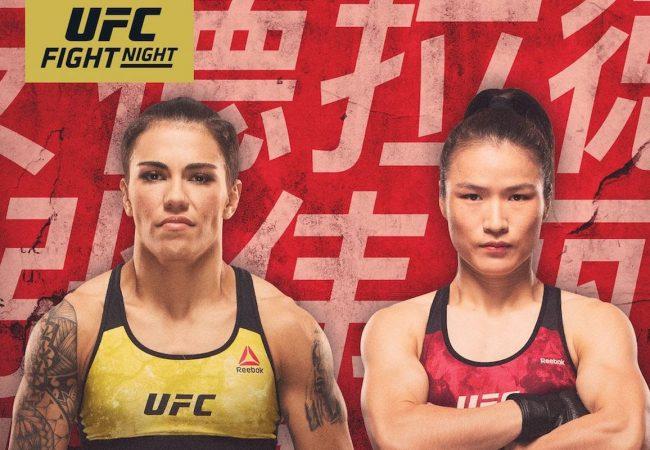 Weili Zhang nocauteia Bate-Estaca e fatura cinturão no UFC China