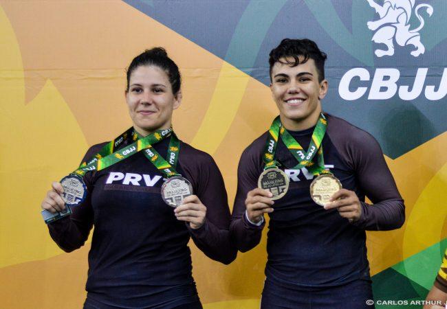 Vídeo: Atletas do UFC, Jéssica Bate-Estaca e Karol Rosa comentam ouro no Brasileiro Sem Kimono