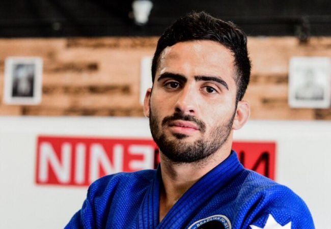 Go from a takedown straight to an armbar, with Gabriel Mendes