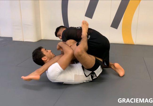 Athos Miranda teaches the X-guard sweep he used at Kasai Pro 6