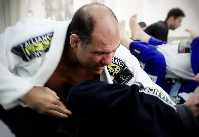 Fabio Gurgel teaches a back-take from the hook guard
