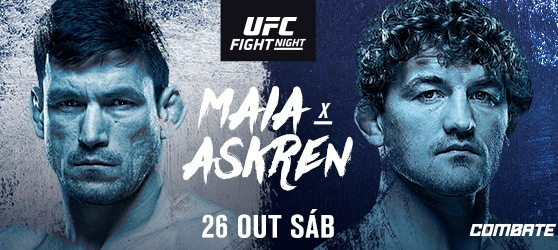 O que esperar de Demian Maia x Ben Askren na luta principal do UFC Cingapura