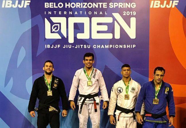 Fernando Reis e Matheus Spirandeli garantem ouro duplo no Belo Horizonte Open
