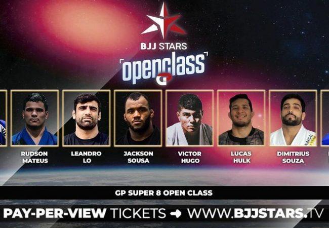 Com novos nomes confirmados, BJJ Stars agita São Paulo neste sábado; veja o card
