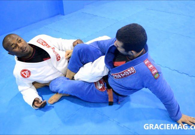 Vídeo: Kléber Buiú ensina saída da guarda 50/50 na Gracie Barra Parque Olímpico