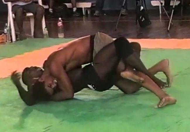 Do baú de Paquetá: Léo Santos x Marcelo Zulu na seletiva do ADCC 2001