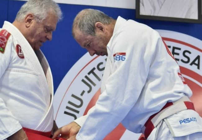 Grandmaster Mauricio Robbe is Gracie Barra's first red-belt