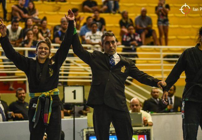 Bia Basílio fatura ouro duplo e Yan Pica-Pau reina absoluto no Sul-Americano da CBJJ