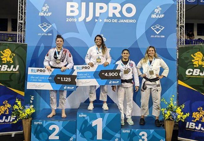 Julia Boscher wins double gold at Rio BJJ Pro