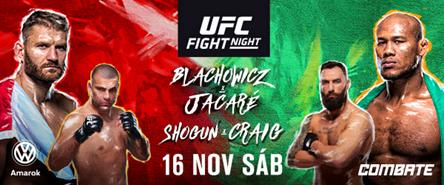 Confira os resultados do UFC São Paulo: Jacaré x Blachowicz