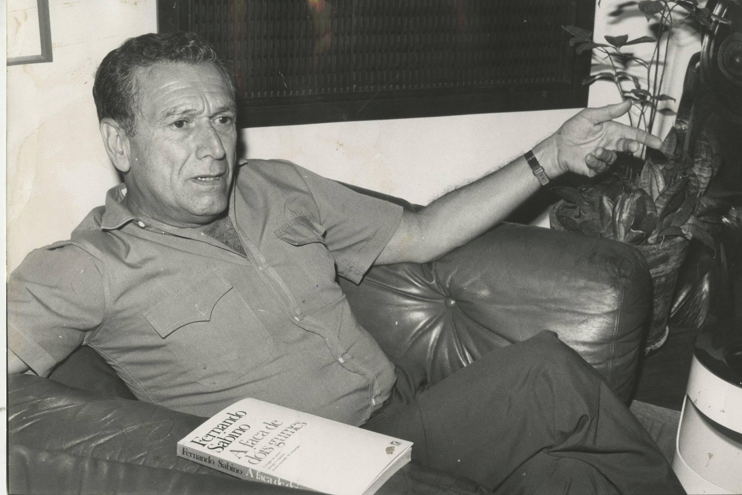 O escritor Fernando Sabino. Foto: Divulgação