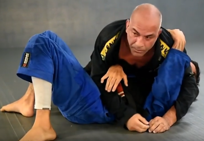 Video: Zé Mário Sperry and his student Milton Vieira go at it — hard