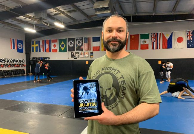 Wand Fight Team coach launches book about the didactics of BJJ instructorship