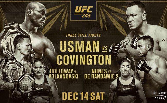 Vídeo: Com três disputas de cinturão, veja os preparativos do UFC 245