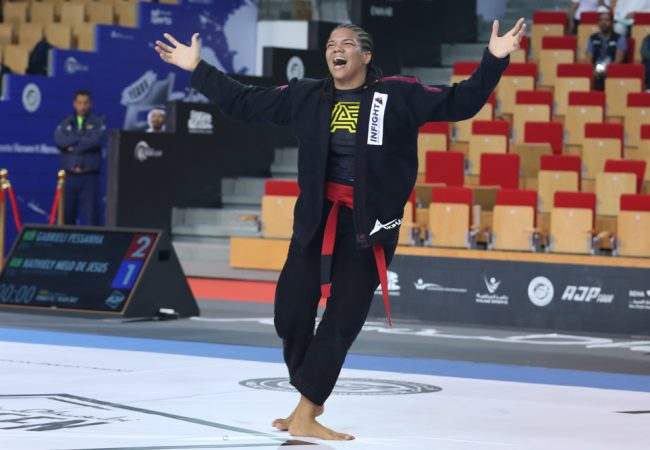 Gabrieli Pessanha is the first-ever heavyweight Abu Dhabi Queen of Mats