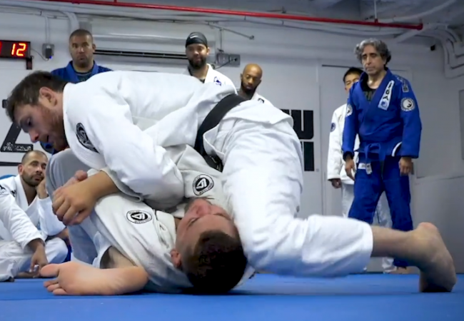 Roger Gracie seminar: Learn an armbar from the mount
