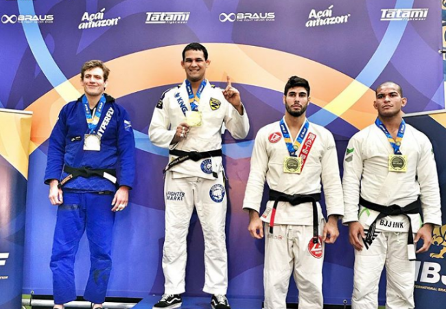 Fellipe Andrew e Ffion Davies no topo do Europeu de Jiu-Jitsu 2020; veja os resultados finais da faixa-preta