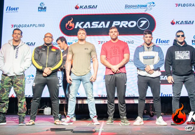 Kasai Pro 7 weigh-ins in Dallas