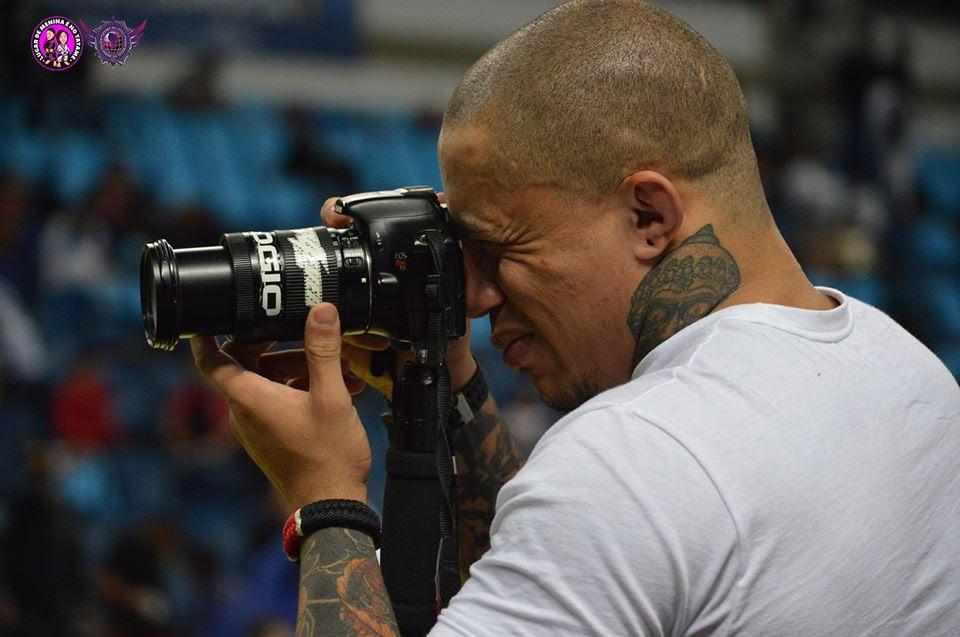 O faixa-preta Jair Sinistro em ação num dos torneios da alta temporada da arte suave. Foto: Acervo Pessoal