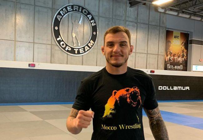 Vídeo: Reveja o mata-leão relâmpago de Renato Moicano no UFC Brasília