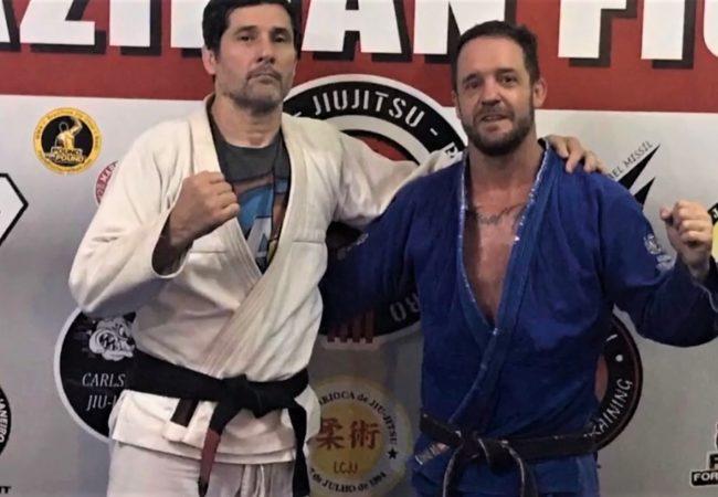 A primeira graduação à distância no Jiu-Jitsu a gente não esquece