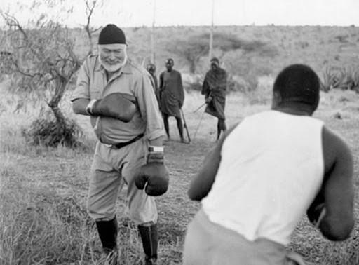 10 lições do vencedor do Nobel Ernest Hemingway para lutadores