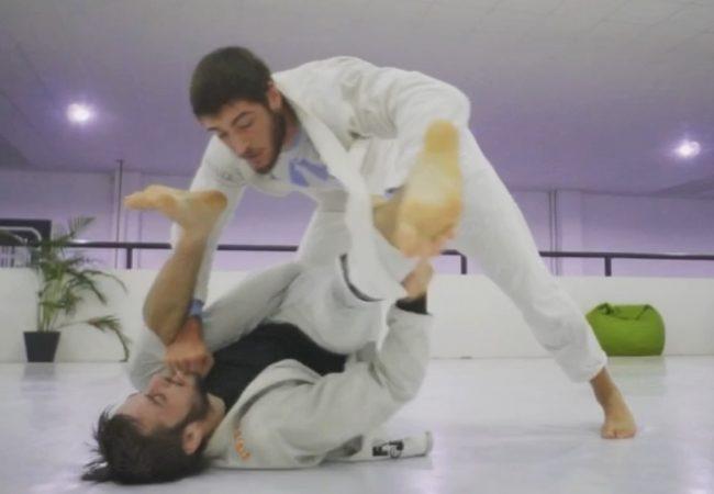 Vídeo: Pedro Paquito e Guilherme Jardim em treino de Jiu-Jitsu na Focus, em Portugal