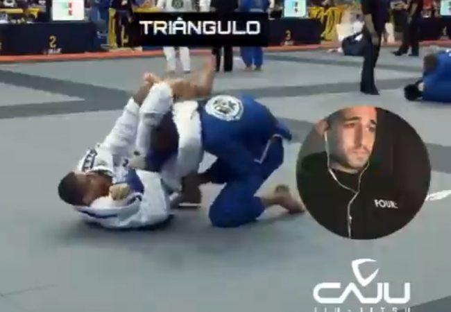 Romulo Caju analisa sua entrada giratória no triângulo