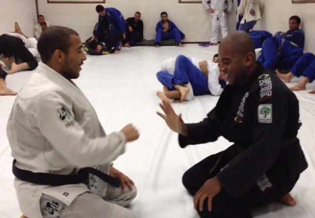 Vídeo: José Aldo e Clebinho Ferreira em treino amistoso de Jiu-Jitsu