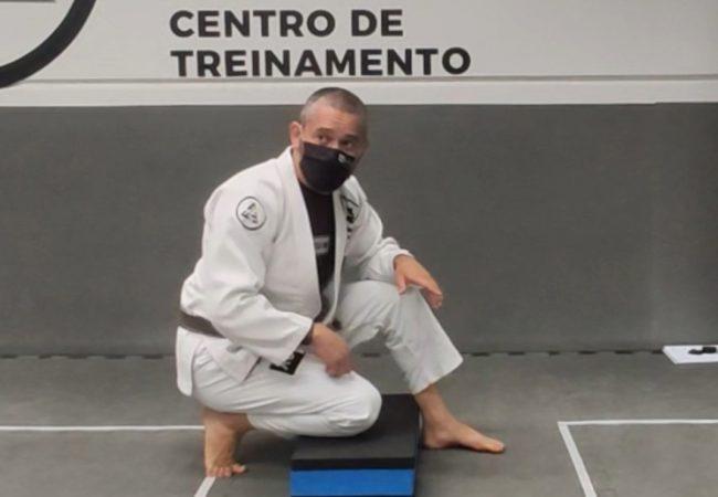 Jean Feijó e sua aula de armlock em tempos de distanciamento