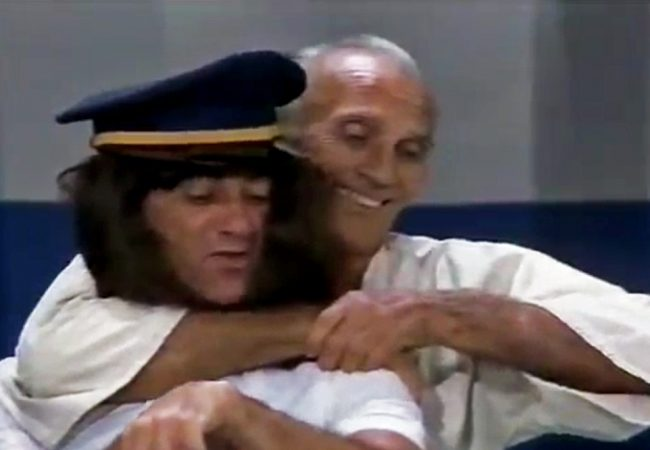 In 1977, Helio Gracie was in a 'Charlie's Angels' spoof