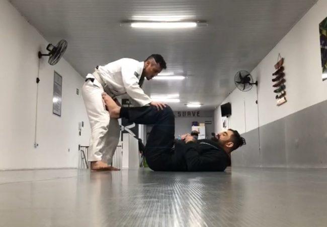 Rodrigo D'angelo ensina drill de passagem com finalização