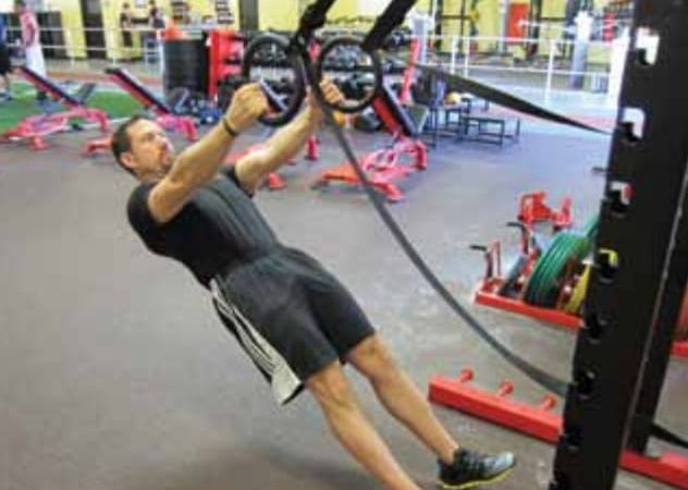Training for Warriors: Add strength, stability and speed with suspension training