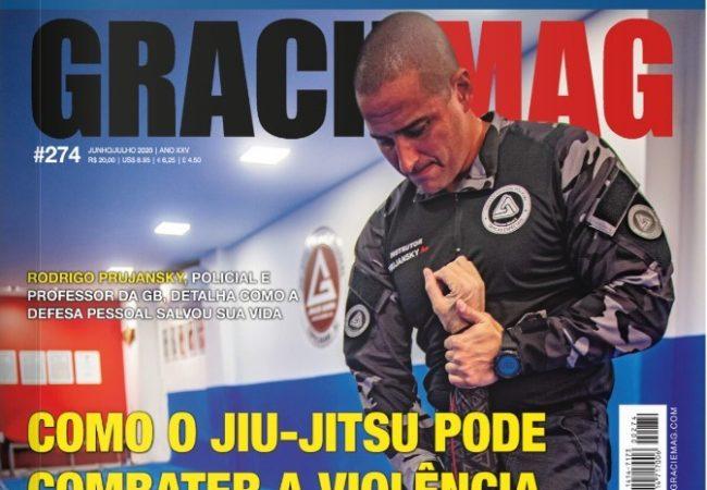 GRACIEMAG #274 – Como o Jiu-Jitsu pode combater a violência