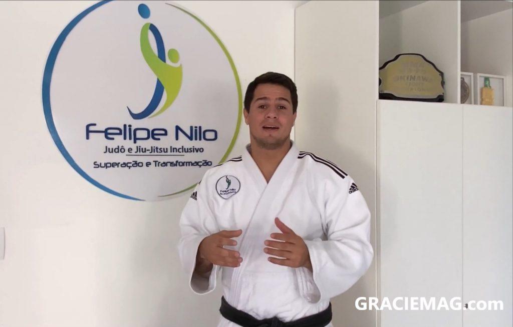 Jiu-Jitsu, terapia e autismo, por professor Felipe Nilo