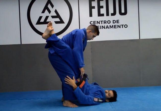 Fabiano Papel ensina raspagem contra a subida da guarda fechada